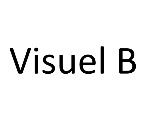 Visuel B